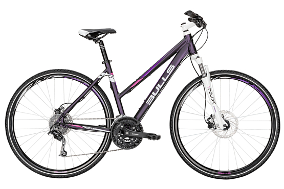 Велосипед Bulls Cross Bike 2 Lady 2016 purple matt / Фиолетовый