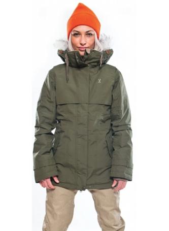 Купить Куртка сноубордическая I FOUND 2015-16 SENNA OLIVE NIGHT, Одежда сноубордическая, 1224574