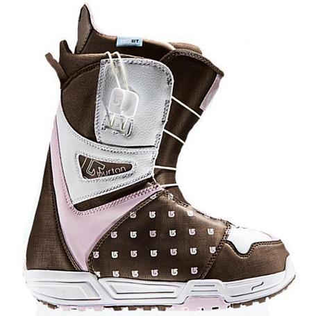 Купить Ботинки для сноуборда BURTON 2008-09 Mint Brown/White/Pink 468447