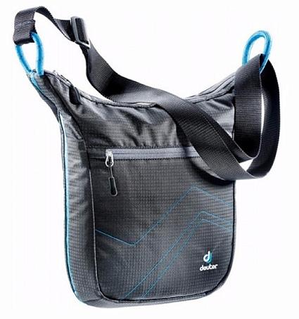 Купить Сумка на плечо Deuter 2015 Shoulder bags Pannier City black-turquoise, Сумки для города, 1073408