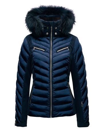 Купить Куртка горнолыжная TONI SAILER 2017-18 EDIE splendid fur ink blue, Одежда горнолыжная, 1364969