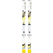 Горные лыжи с креплениямиГорные лыжи<br>Новые Unique 4 - ультра легкие женские карвинговые лыжи для заядлых совершенствующихся горнолыжниц. Небольшой рокер на носке лыж для плавного входа и выхода из поворотов и непринужденного естественного карвинга сочетается с традиционным прогибом для стабильности. В лыжах Unique используется легкое дерево Павловния, кроме этого центр сердечника полый, что позволило сделать лыжи на 20% легче. Низкий вес лыж позволяет вам кататься уверенно и непринужденно с утра до вечера! Кроме этого лыжи идут в комплекте с облегченными креплениями Xelium. Лыжи легко носить, а еще легче на них кататься! 100% трассовое катание.  Характеристики:Конструкция: Центральный дуалтек, Air ShapeРостовки: 149-156Геометрия: 122-72-102Сердечник: Air Core, стекловолокноТехнологии: Низкий Рокер Powerturn 10%, Высокий кембер 90%. Боковой вырез Oversized, Air Shape, Echo for Life. Лён.Радиус: 13 м. (156)Вес: 2,8 кг./пара<br><br>Пол: Женский<br>Возраст: Взрослый
