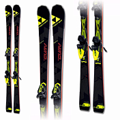 Горные Лыжи с Креплениями Fischer 2016-17 Rc4 The Curv TI Allride+rc4 Z11 Powerrail Solid Black/yellow 78 [G]
