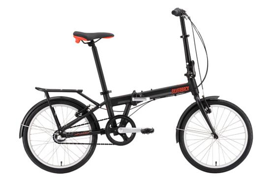 Купить Велосипед Silverback SOTO 2016 Черный/Оранжевый/Серебристый / Черный/Оранжевый/Серебристый, Складные велосипеды, 1250088
