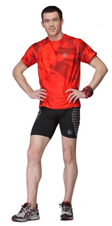 Купить Футболка беговая BUFF T-SHIRT S.SL. TRITTON (ORANGERED) оранжевый/красный Одежда для бега и фитнеса 759638