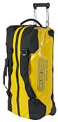 Сумка на колесахСумки на колесах<br>Водонепроницаемая универсальная дорожная сумка на колесиках для путешествий и &amp;nbsp;экспедиции.<br> <br> - Водонепроницаемая конструкция с защитой IP67<br> - Водонепроницаемые молнии TizipВодонепроницаемые и крайне износостойкие молнии он немецкого производителя Titex. Часто используются при изготовлении герметичных сумок-баулов. Обеспечивают полную изоляцию от влаги и подходят для наиболее суровых условий.<br> - Чрезвычайно прочные материалы<br> - Большие колеса из ПУ диаметром 100 мм<br> - Удобная телескопическая ручка для транспортировки<br> - Внутренние компрессионные ремни<br> - Съемные лямки (рюкзак функция)<br> - Алюминиевая база между колесами для защиты основания<br> - 1 внешний сетчатый карман с застежкой-молнией (не является водонепроницаемым)<br> - Сумка может быть заблокирована с помощью навесного замка (замок не входит в комплект) <br> - Материал: PD620/PS620C<br> - Объем (л): 60<br> - Реальный вес (кг): 3.25