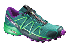 ������� ��������� ��� XC Salomon 2016-17 Shoes Speedcross 4 W Veridian G/gr/passi