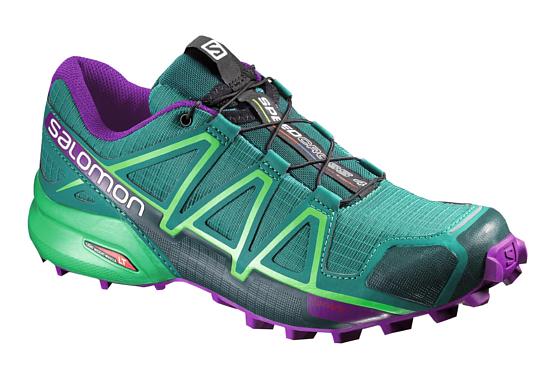 Купить Беговые кроссовки для XC SALOMON 2016-17 SHOES SPEEDCROSS 4 W Veridian G/GR/PASSI Кроссовки бега 1273697