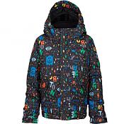 Куртка сноубордическаяОдежда сноубордическая<br>Самая теплая куртка для очень холодной погоды и хорошая мембрана.<br>Утеплитель : 3M Thinsulate Insulation<br>Мембрана : DRYRIDE Durashell 2-х слойная, <br>Водонепроницаемость 5,000MM, <br>Паропроницаемость 5,000 гр/м2/24 ч,<br>Функция Room-To-Grow, позволяющая увеличить длину рукавов,<br>Съемный, регулируемый по объему капюшон,<br>Карманы на липучках.<br><br><br>Пол: Мужской<br>Возраст: Детский<br>Вид: куртка