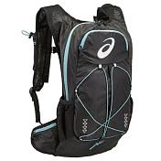 Рюкзак Asics 2016-17 Lightweight Running Backpack Черный/голубой