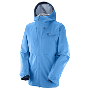 Куртка горнолыжная SALOMON 2017-18 QST GUARD 3L JKT M Hawaiian Surf