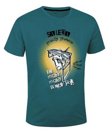 Купить Футболка для активного отдыха Salewa Climbing MIGHT CO M S/S TEE teal/0900 Одежда туристическая 892116