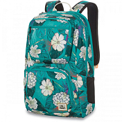 РюкзакРюкзаки городские<br>Молодежный рюкзак для девушек Dakine Jewel впечатляет своей функциональностью, эргономичностью и стильным дизайном.&amp;nbsp;<br> Имеет отдельный усиленный карман на молнии с флисовой подкладкой для ноутбука и вместительное основное отделение. &amp;nbsp;<br> <br> - Отделение для ноутбука или планшета до 15.<br> - Встроенный карман, отделанный мягким флисом, для хранения планшета.<br> - Реглируемая грудная стропа.<br> - Карман, отделанный мягким флисом для солнцезащитных очков<br> - Отделение, защищённое мягким флисом для письменных принадлежностей и органайзера. <br> - размер 48 x 30 x 23 см<br> - 600D Polyester