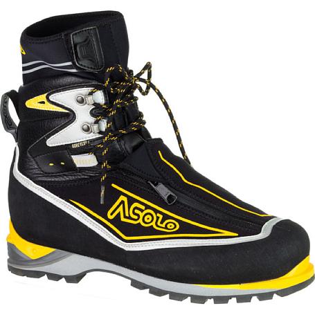 Купить Ботинки для альпинизма Asolo Eiger GV Black / Yellow, Альпинистская обувь, 899219