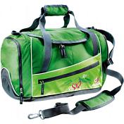 """СумкаРюкзаки школьные<br>Тренажерный зал, бассейн или парк? Куда бы Вы ни собрались, эта сумка вместит все необходимое.<br><br>-вентилируемое отделение для обуви<br>-небольшой боковой карман на молнии<br>-передний карман на молнии<br>-просторное основное отделение<br><br><br>Вес: 480 г.<br>Объем: 20 л.<br>Размер: 43 / 32 / 24 см<br>Материал: <br>Deuter-Super-Polytex. Прочная, легкая универсальная ткань из нитей 600 den с усиленным ПУ покрытием. Применяется для снижения веса рюкзаков, используемых в умеренных условиях. """"Deuter-Super-Polytex BS"""": производится в полном соответствии стандарту Bluesign. По функциональности и прочности похож на Deuter-Super-Polytex.<br>Deuter-Ballistic. Полиамидная ткань из нити 420 den с высокой плотностью плетения, очень прочная и легкая, особенно подходит для рюкзаков Trans Alpine и Aircontact, имеет ПУ покрытие. Имеет блестящую отделку."""