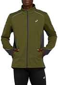 Куртка беговая Asics 2020-21 Lite-show winter jacket Smog Green/Graphite Grey