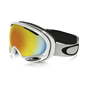 Очки Горнолыжные Oakley 2016-17 Aframe 2.0 Polished White/fire Iridium