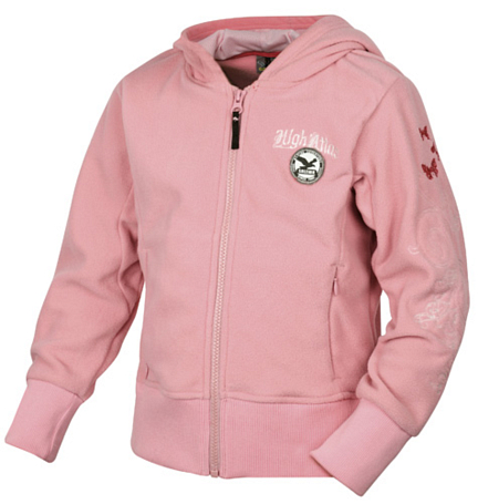 Флис для активного отдыха Salewa Kids RIBA PL G JKT candy