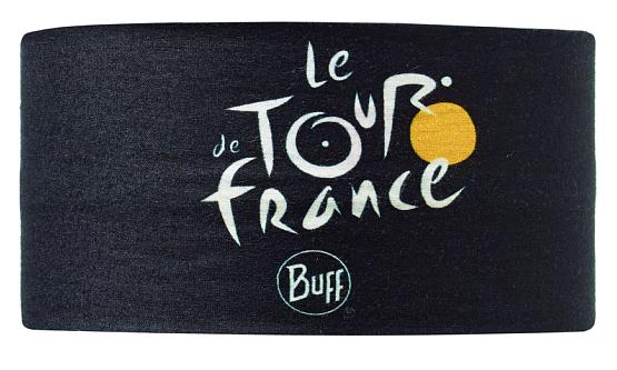 Купить Повязка BUFF TOUR DE FRANCE HEADBAND BLACK Банданы и шарфы Buff ® 1169039
