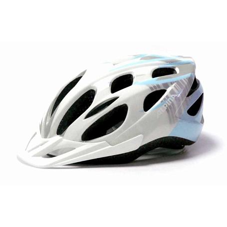 Купить Летний шлем Alpina SMU MTB 14 white-iceblue, Шлемы велосипедные, 1180249