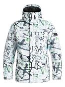 Куртка сноубордическаяОдежда сноубордическая<br>Сноубордическая куртка<br> <br> -Утеплитель Warmflight® (тело 120 г, рукава 100 г, капюшон 80 г)<br> -Подкладка из тафты и сетки с трикотажными вставками с начесом<br> -Критические швы проклеены<br> -Сеточные вставки подмышками для вентиляции<br> -Система пристегивания куртки к штанам<br> -Регулируемый капюшон<br> -Карман для скипасса<br> -Внутренний карман для маски<br> -Вшитая противоснежная юбка из синтетической тафты<br> -Отстегивающаяся противоснежная юбка<br> -Брелок для ключей