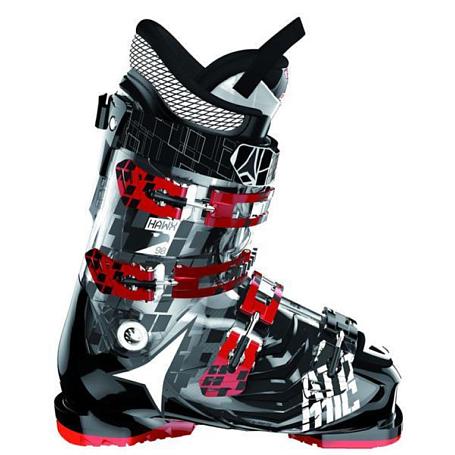 Купить Горнолыжные ботинки ATOMIC 2013-14 Hawx 90 SMOKE/SOLID BLACK Ботинки горнoлыжные 902472