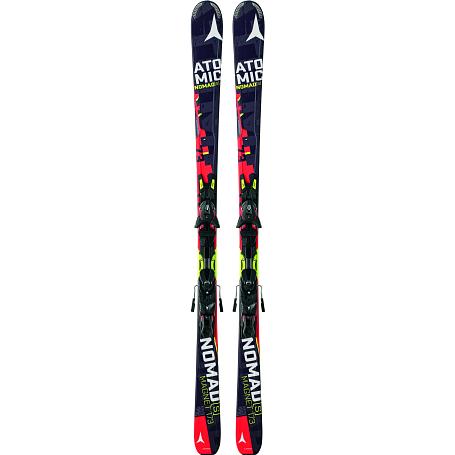 Купить Горные лыжи с креплениями ATOMIC 2014-15 NOMADs MAGNET ARC-L & XTO 12 Red/BLACK 1140104