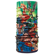 БанданаАксессуары Buff ®<br>В отличие от Polar Buff внутренний слой сшит с внешним. Внутренний слой: Polartec, внешний слой: микрофибра. Материал: 100% полиэстер.Можно использовать как балаклаву, шарф, капот, шапку.Для детей 4-12 лет, обхват головы 50-55см.&amp;nbsp;&amp;nbsp;Вес: 55гТехнология Polygiene для сохранения свежести, даже когда вы вспотеете.Можно стирать в машине при температуре не выше 40гр. Не гладить.<br><br>Пол: Унисекс<br>Возраст: Детский<br>Вид: бандана