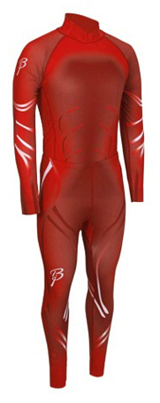 Купить Комплект беговой Bjorn Daehlie Bodytec Victory 2-piece RACE Formula One (красный), Одежда лыжная, 774695