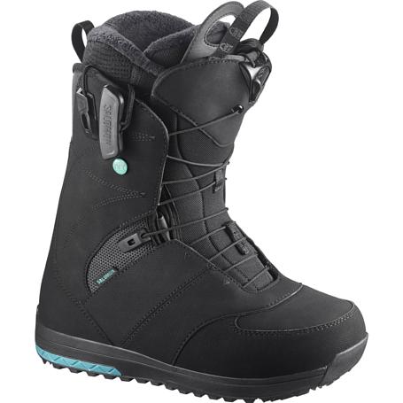 Купить Ботинки для сноуборда SALOMON 2017-18 IVY BLACK, сноуборда, 1360487