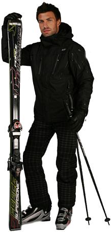 Купить Куртка горнолыжная Killy 2010-11 MAPLE II M JKT (BLACK NIGHT) черный Одежда 624251