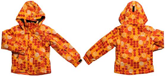 Купить Куртка горнолыжная MAIER 2010-11 Iceflower оранжевый Детская одежда 642808