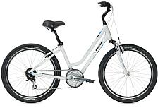 ВелосипедДля города<br>Женский комфортный велосипед Trek Shift 3 WSD 2016. Trek Shift 3 WSD 2016 станет прекрасным подарком для каждой поклонницы активного отдыха!<br> <br> Рама и амортизаторы<br> <br> Рама: Alpha Gold Aluminum<br> Вес всего велосипеда: 15.5 кг<br> <br> Цепная передача<br> <br> МанеткиShimano EF65: 8 speed<br> Передний переключатель: Shimano M191<br> Задний переключатель: Shimano Alivio<br> Шатуны: Suntour NEX, 48/38/28 w/chainguard<br> Кассета: Shimano HG31 11-32, 8 speed<br> Педали: Wellgo nylon platform<br> <br> Колеса<br> <br> Обода: Formula FM21 alloy front hub; Shimano RM30 alloy rear hub w/Heavy-duty double-walled 36-hole alloy rims<br> Покрышка: Bontrager H5 Hard-Case Ultimate, 26x2.0<br> <br> Компоненты<br> <br> Передний тормоз: Tektro alloy linear-pull brakes w/Shimano EF65 levers<br> Задний тормоз: Tektro alloy linear-pull brakes w/Shimano EF65 levers<br> Грипсы: Bontrager Satellite Elite, lock-on, ergonomic<br> Руль: Steel, 80mm rise<br> Вынос: Alloy, adjustable rise, quill<br> Рулевая колонка: 1-1/8, semi-integrated, semi-cartridge bearings<br> Седло: Bontrager Suburbia WSD w/super-soft padding<br> Подседельный штырь: Alloy, adjustable suspension, 31.6mm<br><br>Пол: Женский<br>Возраст: Взрослый
