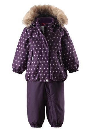 Купить Комплект горнолыжный Reima 2017-18 Reimatec® winter set, Pihlaja Deep violet, Детская одежда, 1351843