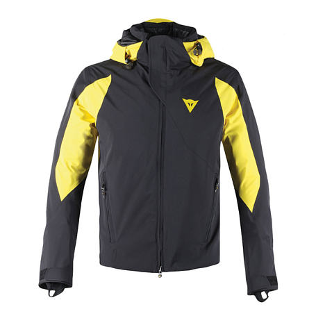 Купить Куртка горнолыжная Dainese 2016-17 ROCA JACK D-DRY JACKET BLACK/VIBRANT-YELLOW/BLACK Одежда 1311173