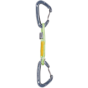 Карабин с оттяжкой Salewa Express Sets EXPRESS SET ALPINO 30CM FLY W/W GREEN/YELLOW