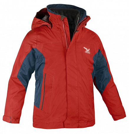 Куртка для активного отдыха Salewa Kids MALDON PTX/PLHL K 2X JKT red/8810 int.0780