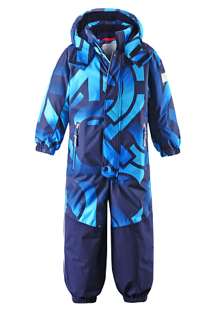 Купить Комбинезон горнолыжный Reima 2016-17 KIEKKO СИНИЙ Детская одежда 1269731
