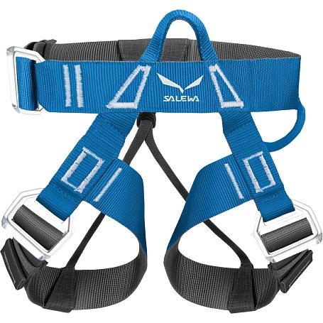 Купить Обвязка Salewa Hardware VIA FERRATA EVO ROOKIE harness ( XXS/S ) POLAR BLUE/ CARBON / Страховочные системы (обвязки) 1167318