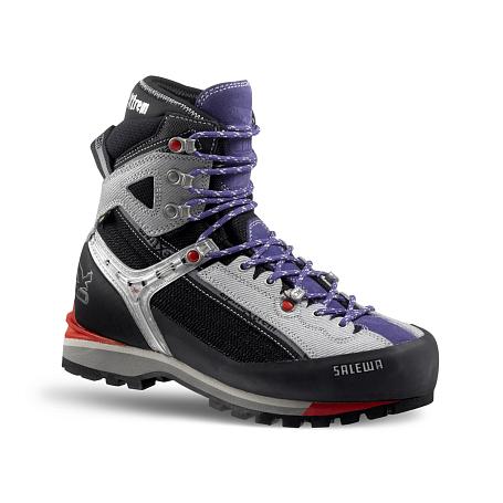 Купить Ботинки для альпинизма Salewa Mountaineering WS RAVEN COMBI GTX (M) black-lilac, Альпинистская обувь, 896436