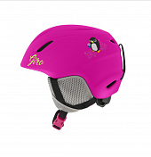 Зимний Шлем Giro 2017-18 LAUNCH MATTE BRIGHT PINK PENGUIN