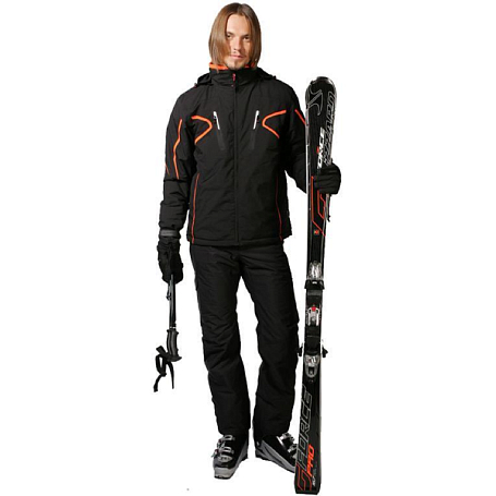 Купить Брюки горнолыжные MAIER 2010-11 Alberto (black) черный Одежда горнолыжная 639710