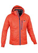 Куртка туристическаяОдежда туристическая<br>Компактная куртка с отстегивающимся капюшоном сохранит тепло и защитит от ветра и дождя. <br>Простая в уходе.<br>Мягкий изнутри воротник для дополнительного комфорта.<br>- вшитые эластичные теплые манжеты с петлями для больших пальцев<br>- центральная молния с внутренним ветрозащитным клапаном по всей длине<br>- эластичная система регулировки одной рукой<br>- 2 наружных кармана на молнии<br>- для большего удобства боковой шов сдвинут назад<br>- нагрудный карман на молнии<br>- утепленный капюшон на молнии с возможностью регулировки<br>- регулируемый сзади воротник для дополнительной защиты от ветра<br>- подкладка с антибактериальными свойствами - защита от неприятных запахов.<br>- отсек для согревания рук<br>- внутренний карман выполняет функцию компрессионного мешка<br>Утеплитель: PrimaLoft One 100g, PrimaLoft sport 60g<br>Отделка: Водоотталкивающее покрытие DWR &amp;#40;стойкое водоотталкивающее средство&amp;#41;, Вощеный &amp;#40;покрытый воском&amp;#41;, непромокаемый, технология Polygiene<br>Подкладка: Dwp taffetta 30D silver 45<br>Основной материал: Dwp PA miniripstop 50<br>Крой: Спортивный облегающий крой.<br>Длина спины: 74 cm<br>Вес: 560 g<br>Слои: Утеплитель<br><br>Пол: Мужской<br>Возраст: Взрослый<br>Вид: куртка
