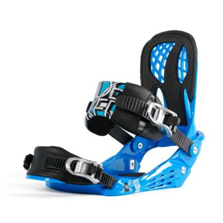 Купить Сноуборд крепления NIDECKER 2012-13 Team blue, крепления, 850460
