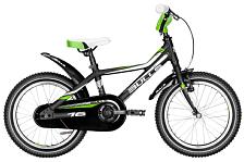 Велосипед Bulls Tokee Lite 16 2016 Black Matt/white / Черный
