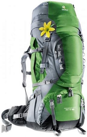 Купить Рюкзак Deuter 2015 Aircontact PRO 65 + 15 SL emerald-titan Рюкзаки туристические 1072939