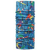 БанданаАксессуары Buff ®<br>Бесшовная бандана из специальной серии Original BUFF®. Надежная защита от ветра, пыли, влаги и ультрафиолета. Контроль микроклимата в холодную и теплую погоду, отвод влаги.Допускается машинная и ручная стирка при 30-40°. Материал не теряет цвет и эластичность, не требует глажки. Original BUFF® можно носить на шее и на голове, как шейный платок, маску, бандану, шапку и подшлемник.<br><br>Пол: Унисекс<br>Возраст: Детский<br>Вид: бандана