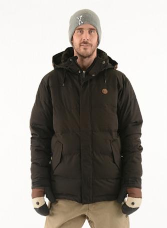 Купить Куртка сноубордическая I FOUND 2015-16 BIRCH (fibre dawn) JET BLACK, Одежда сноубордическая, 1224401