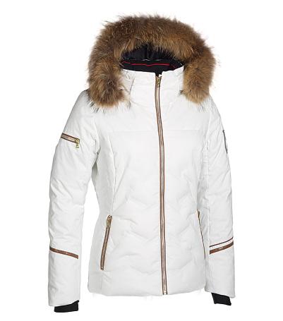 Купить Куртка горнолыжная PHENIX 2015-16 Rose Jacket (куртка+мех воротник меховой) WT, Одежда горнолыжная, 1221317