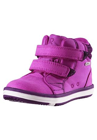 Купить Ботинки городские (средние) Reima 2016-17 PATTER РОЗОВЫЙ Обувь для города 1279327